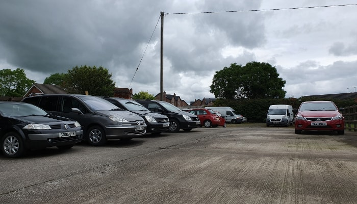 Our fleet of vehicles